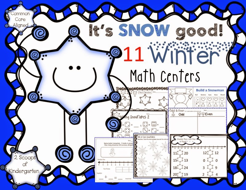 http://www.teacherspayteachers.com/Product/Kindergarten-Winter-Math-Centers-Common-Core-Aligned-998320
