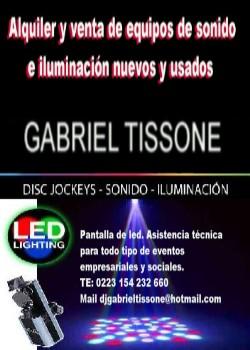 GABRIEL TISSONE DJ