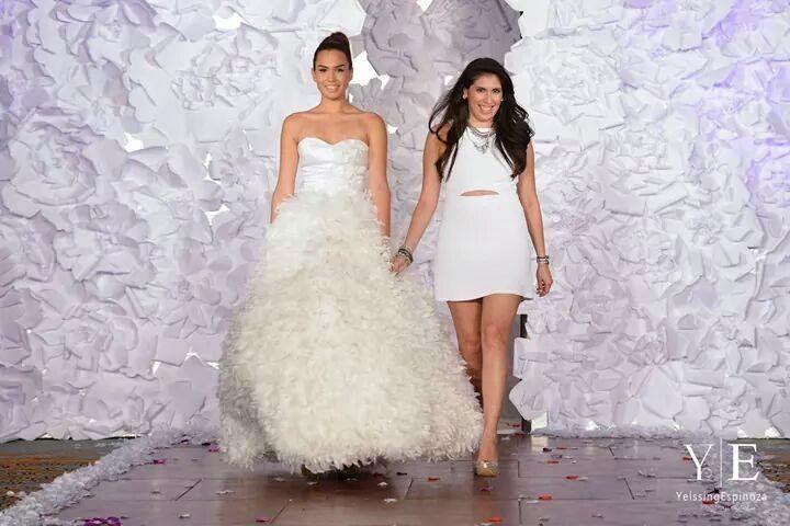 Designer Jacqueline Rebecca & Model Lydia Ramos