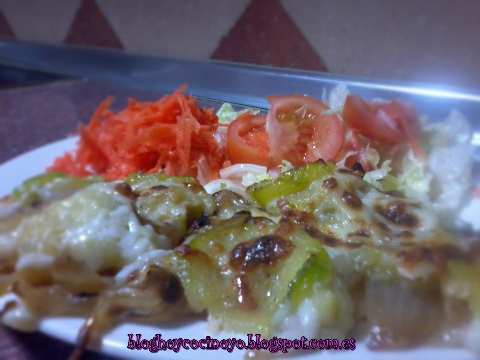 Las recetas de safa gratinado de patatas y calabac n - Gratinado de patata ...