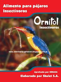 Ornitol para aves insectívoras