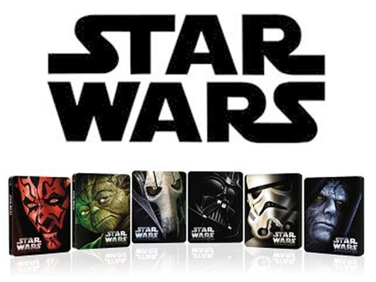 Ya a la venta las películas de 'Star Wars' en una nueva edición limitada metálica en Blu-ray