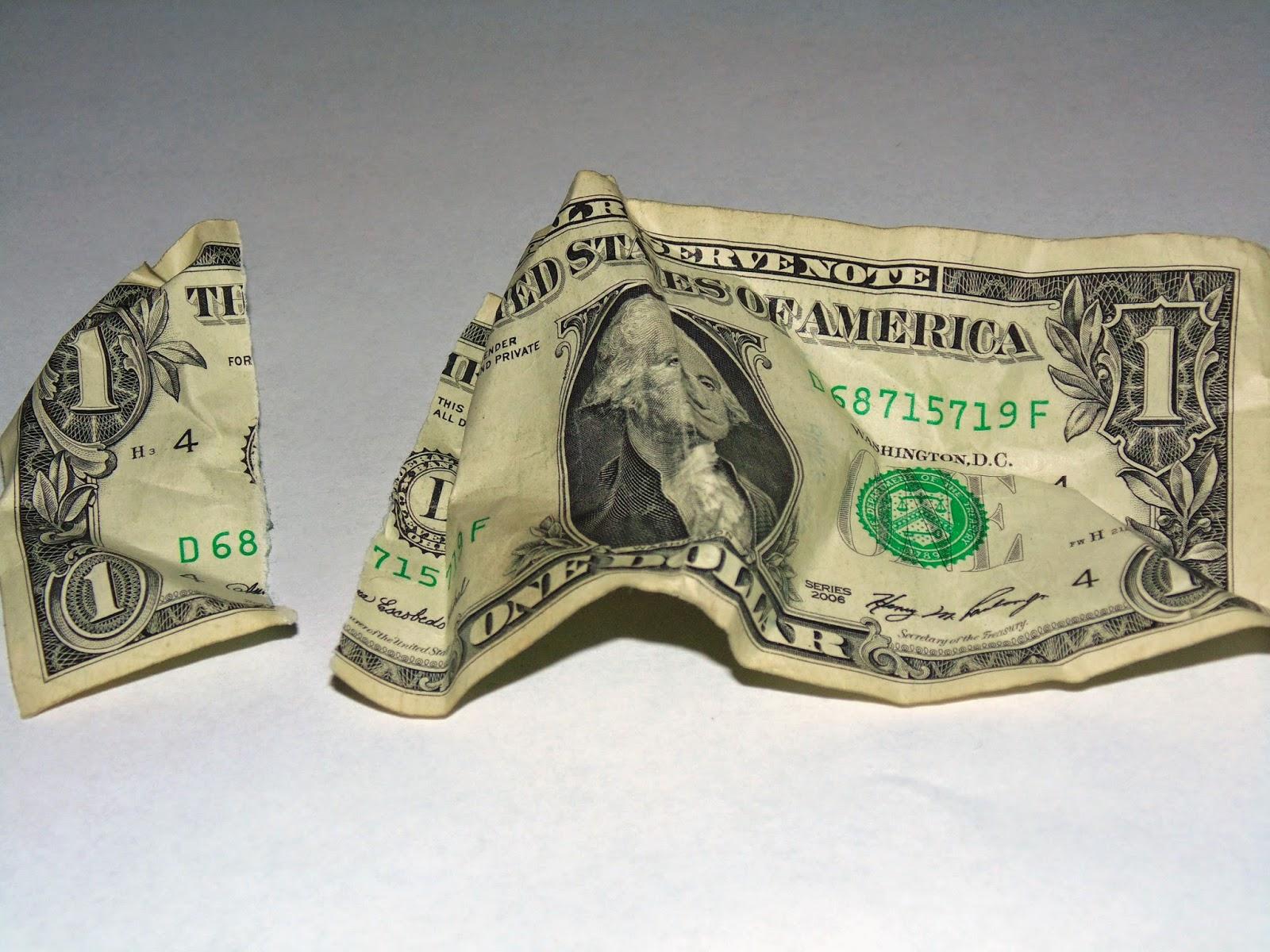 Ripped Dollar