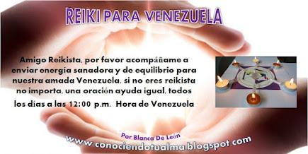REIKI PARA VENEZUELA