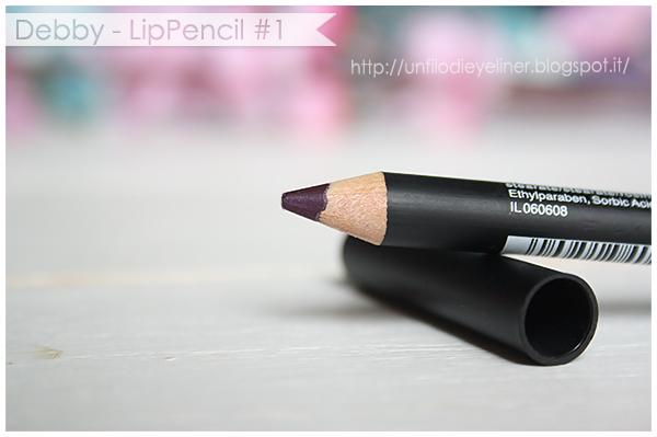 Swatch e Prime Impressioni: Debby - LipPencil #1