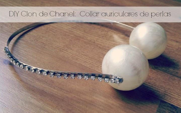 vídeo tutorial para hacer tu misma una copia o clon de un collar de moda de lujo por menos de 2 € con tus propias manos fácilmente.