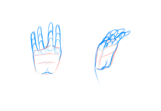 Drawing Hands Step 3