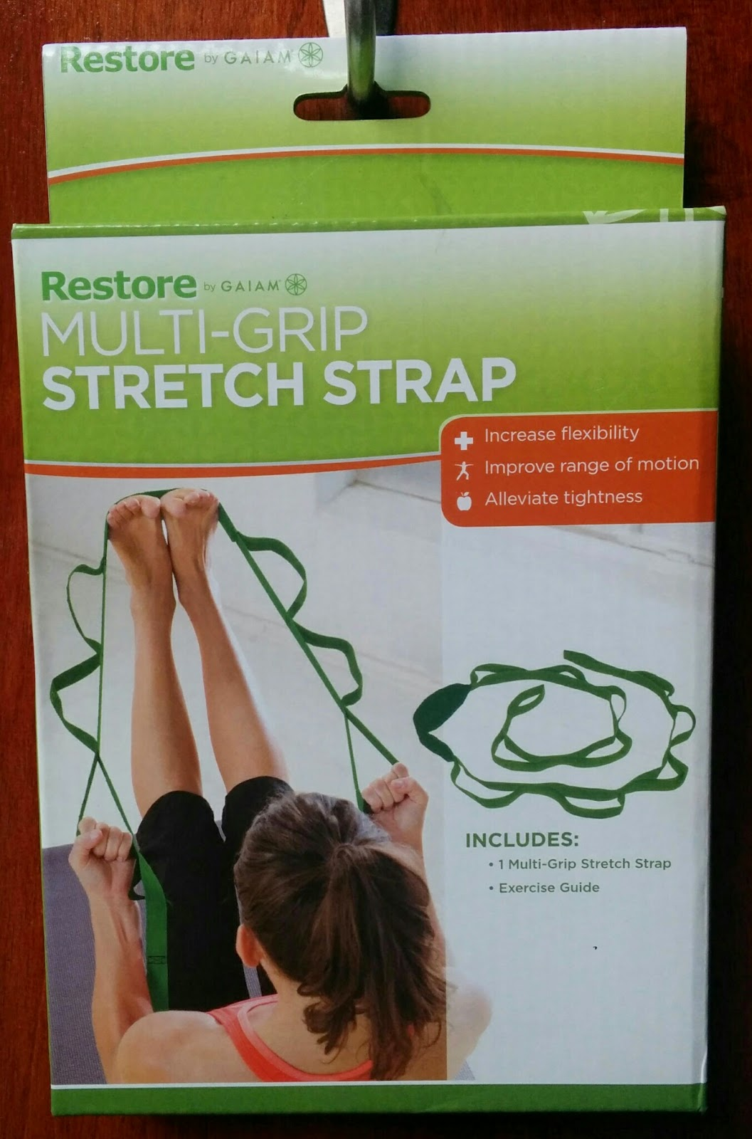 You could win a Multi-Grip Stretch Strap. Join my birthday party today!