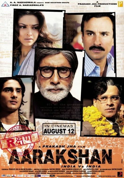 Aarakshan 2011 DVDRip 400mb