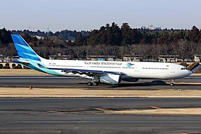 Garuda Indonesia Airbus A330-341 PK-GPA. ZonaAero