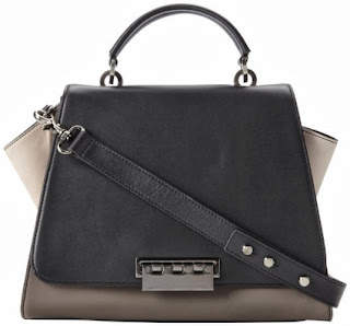 Zac Zac Posen Eartha Soft Handle Colorblock Top Handle Bag