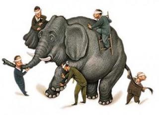 Kisah Bijak Para Sufi: Orang-Orang Buta dan Gajah
