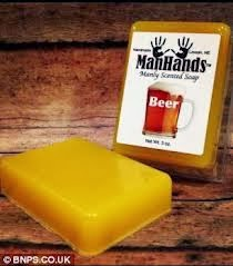 sabun aroma beer