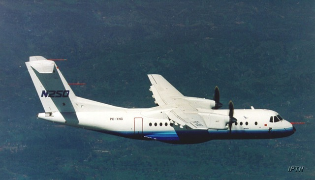 Pesawat N-250 Kembanggan Nasional Produksi IPTN / PT.DI Akan dibangun Kembali
