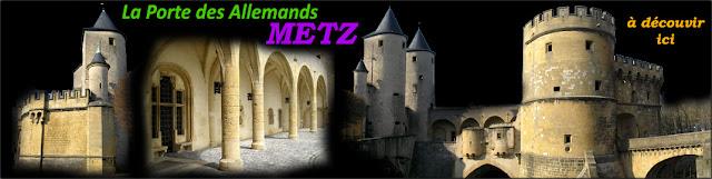 METZ (57) - Porte des Allemands
