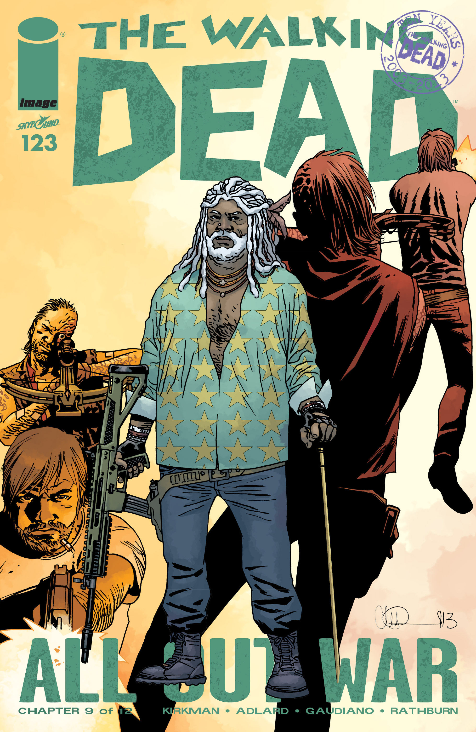 The Walking Dead Issue #123 Page 1