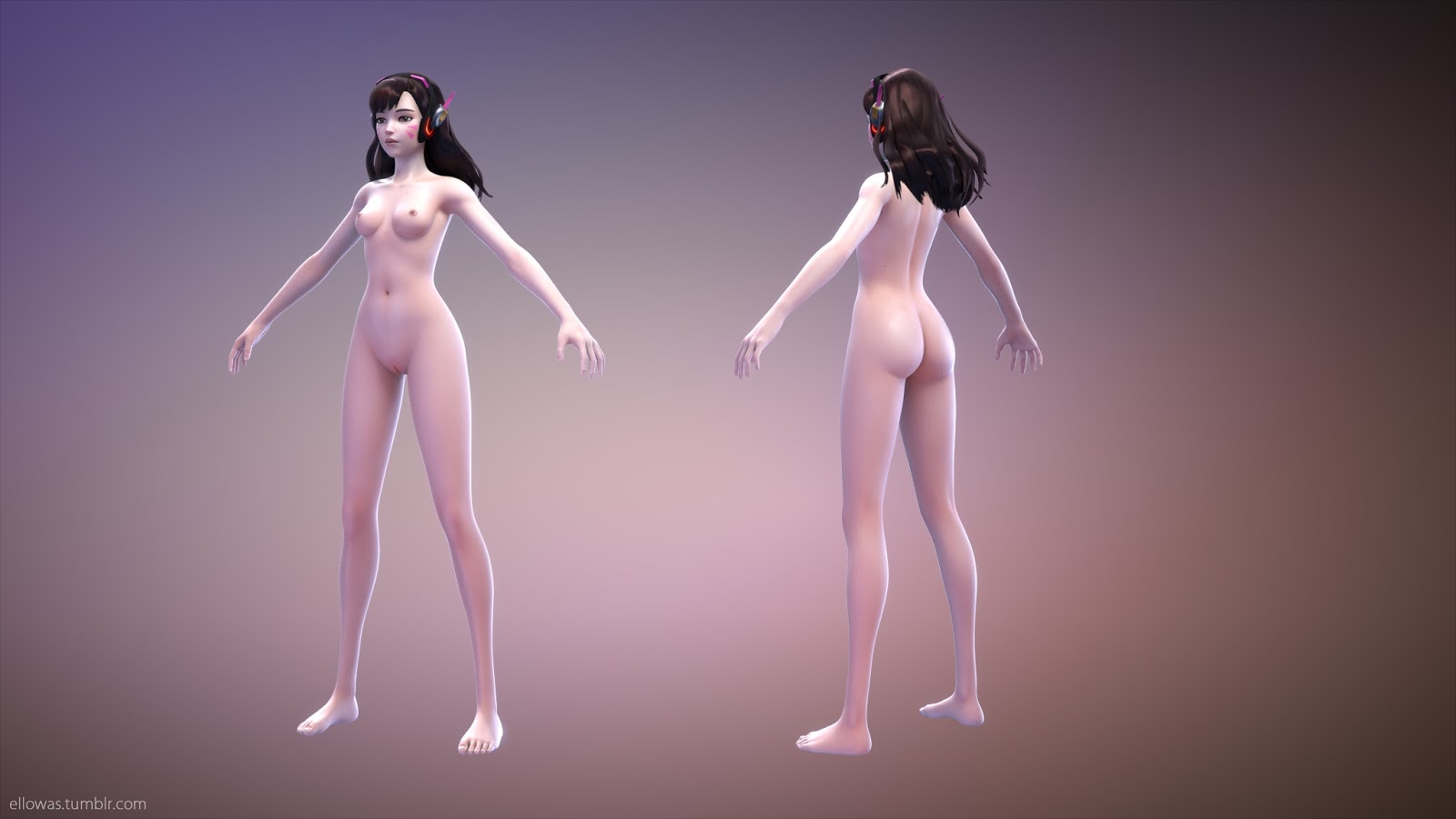 d.va nude