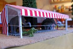 An alle Circusmodellbaufreunde !!! Wir lösen unseren Modellbau auf...