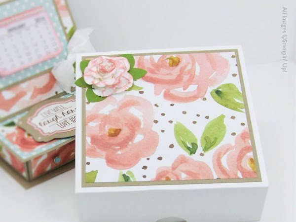 Matching Gift Box for the Desktop Calendar & Organiser
