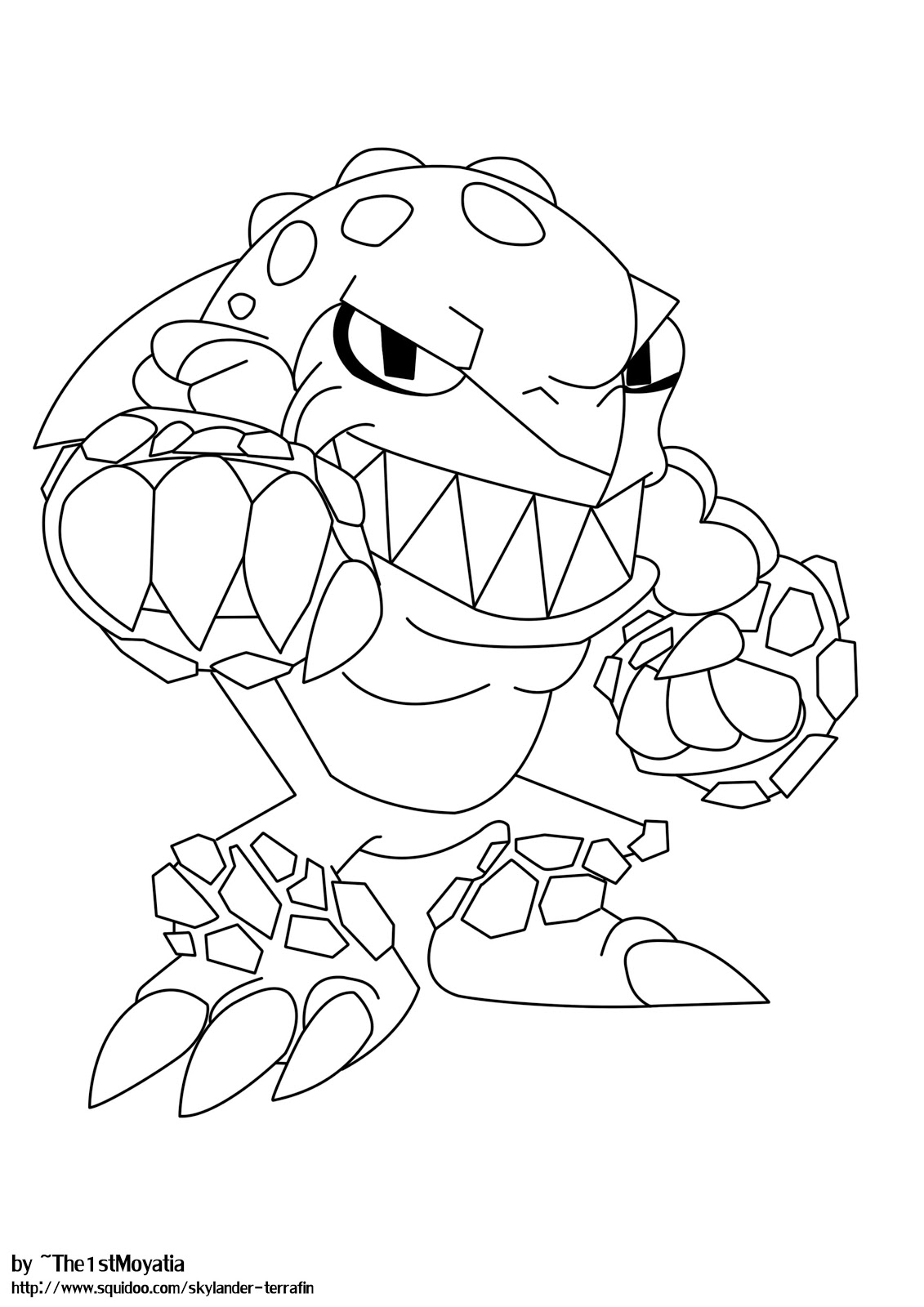 skylanders ninjini free colouring pages