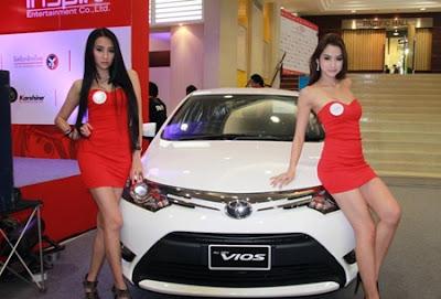 Toyota Mobil Vios Menyambangi Negara Besar