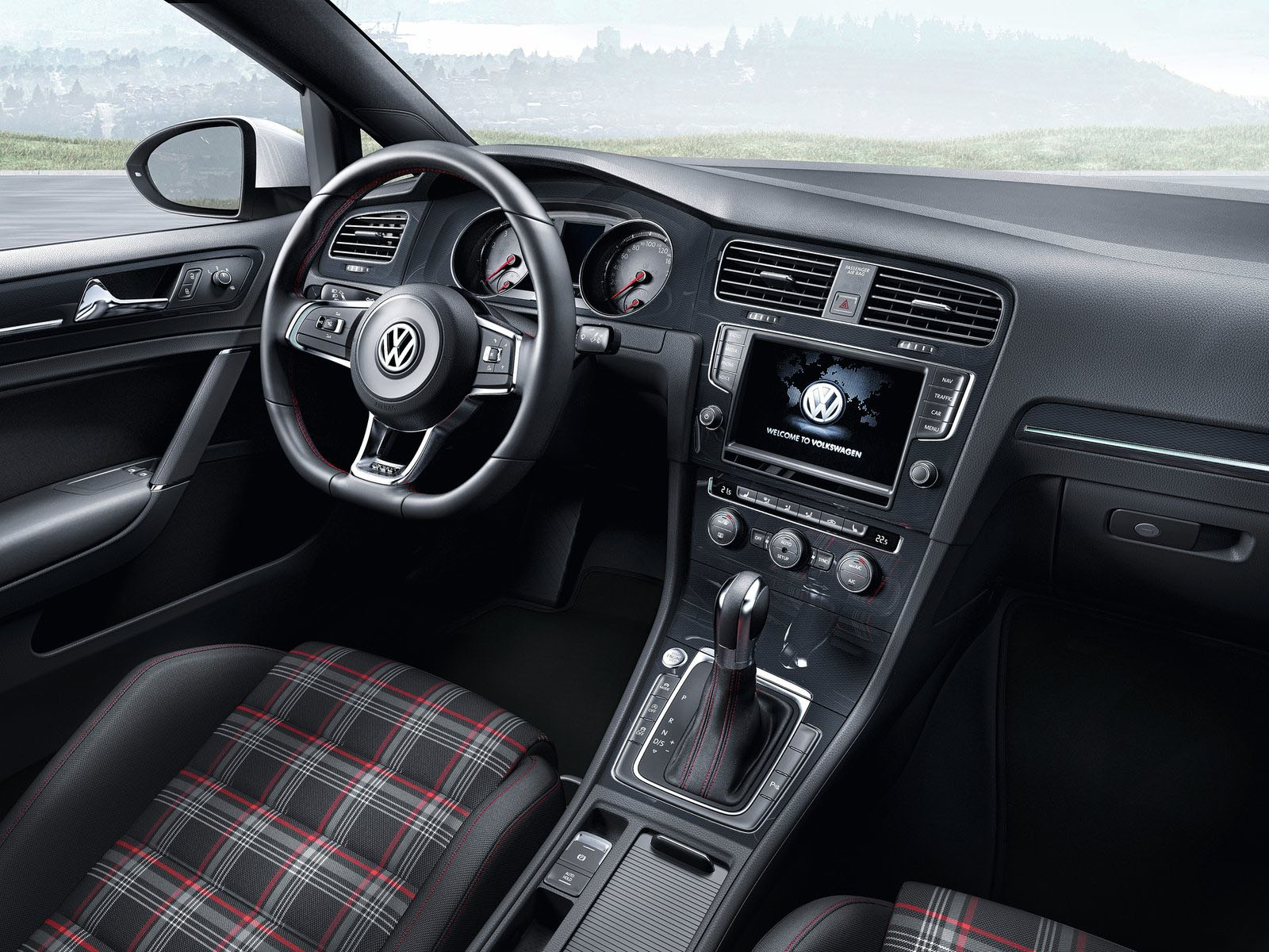 carro on Volkswagen Golf GTI 2014