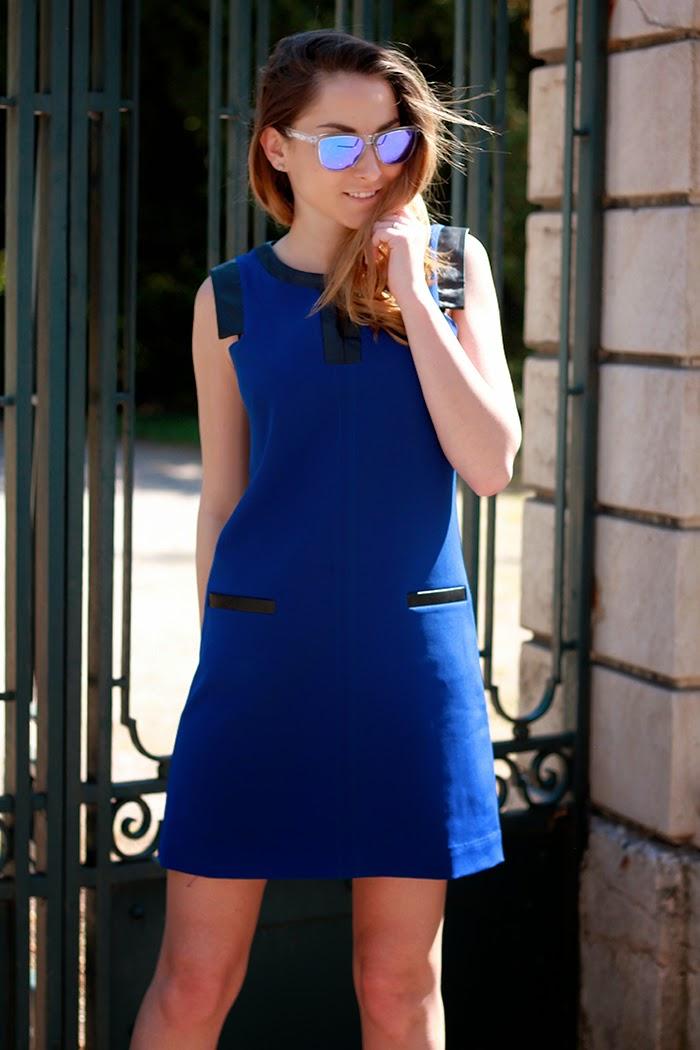 robe bleue été 2014