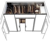 Motartis la cabina armadio - Idee cabina armadio in cartongesso ...