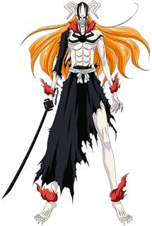 Ichigo del manga Bleach, en su transformación