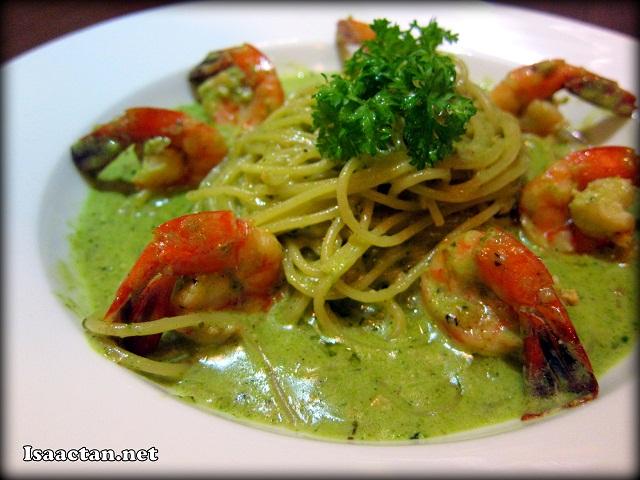 Pesto Prawn Pasta - RM27