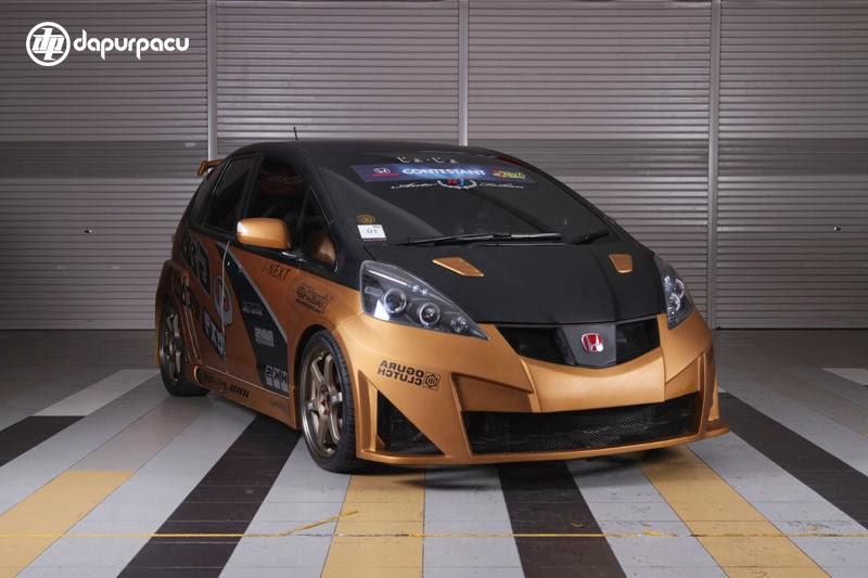 gambar mobil modifikasi honda jazz emas gambar mobil modifikasi 2014