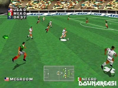 Alexi Lalas International Soccer PSX Game