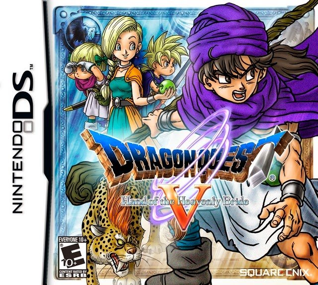 Dragon Quest The Hand of the Heavenly Bride (Español) (Nintendo DS)