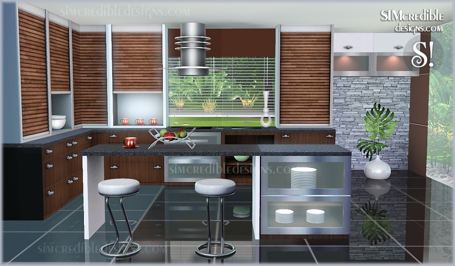 Sims 3 kitchen ideas the image kid has it for Sims 3 kitchen designs