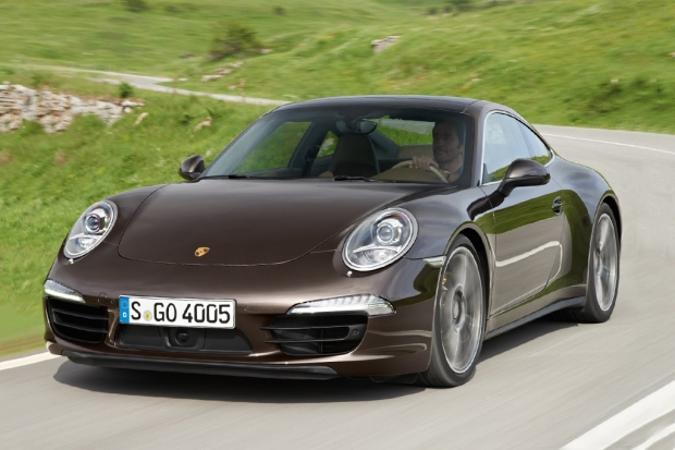2013 Porsche 911 Carrera 4S Coupe 1