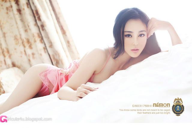 1 Liu - Pink Fifi-Very cute asian girl - girlcute4u.blogspot.com