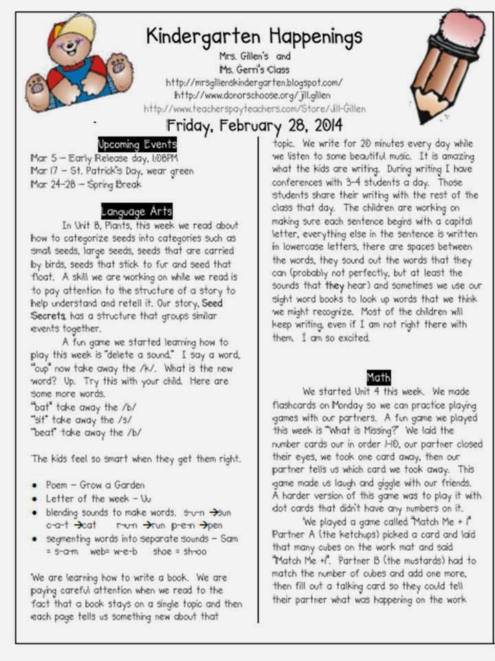 February 28 Newsletter
