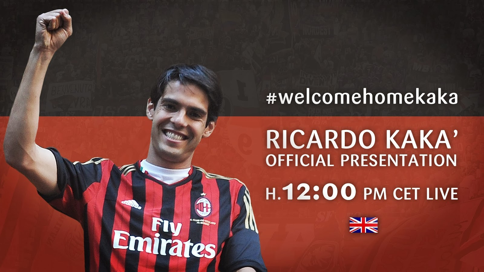 Welcome Home kaka - kaka wallpaper 2014