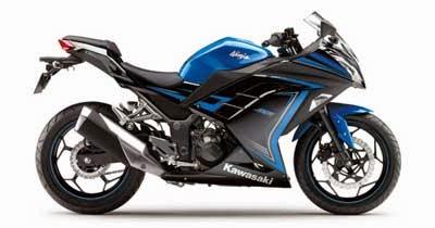 gambar Ninja 250fi Blue