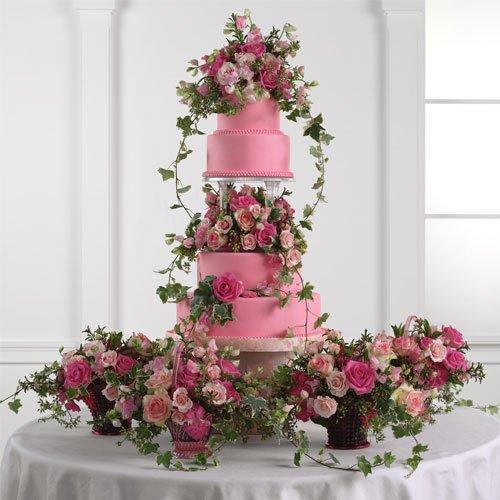 It Looks Wonderful When a Dulha & Dulhan cuts the cake on their