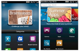 BlackBerry App World 3.0 comes with New Design, More Rich Features, and More Quickly