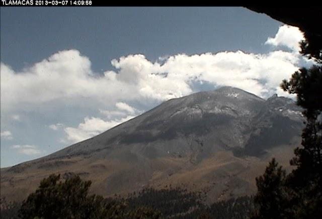 Aumenta actividad volcánica