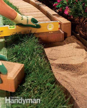 Brick Edging For Your Flower Beds2