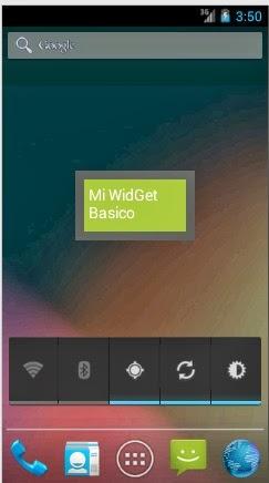 widget basico