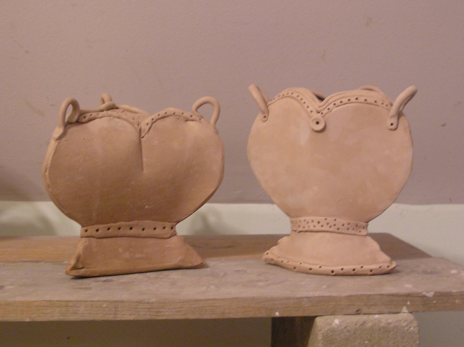 Clay vases designs for Clay pots designs