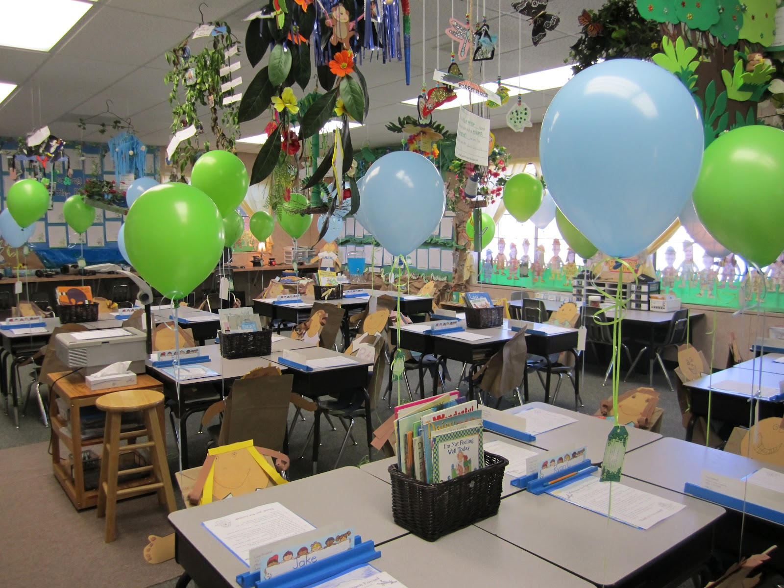 Classroom Ideas For Preschoolers ~ Open house theme a teeny tiny teacher