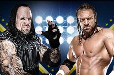 undertaker vs triple h en wrestlemania 28 combate pactado