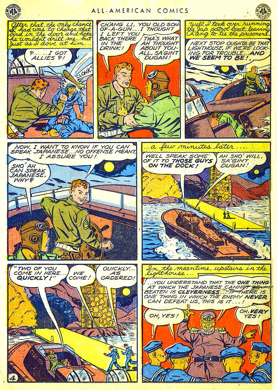 Read online All-American Comics (1939) comic -  Issue #65 - 35
