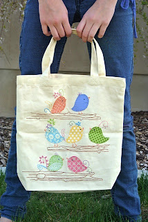 meags and me Quiltmaker 100blocks Tote Bag
