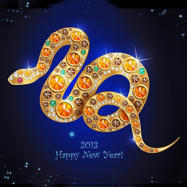 chinese snake year ipad wallpaper 04
